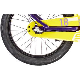 s'cool niXe alloy street 18 3-S Kinderen, purple metalic /yellow